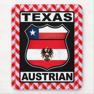 Texas Austrian American Mousemat Mouse Pad