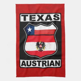 Texas Austrian American Tea Towel