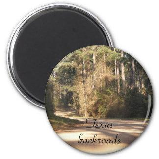 Texas Backroads magnet