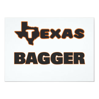 Texas Bagger 5x7 Paper Invitation Card