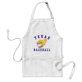 Texas Baseball Adult Apron