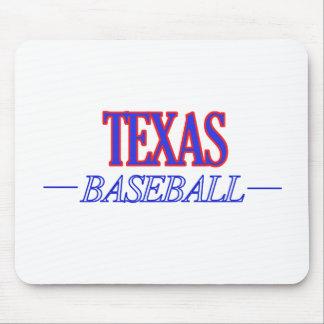 Texas baseball DESIGNS Mouse Pad