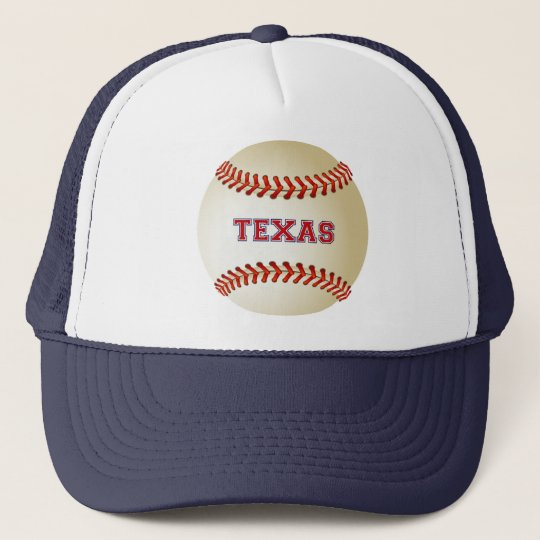 TEXAS BASEBALL TRUCKER HAT