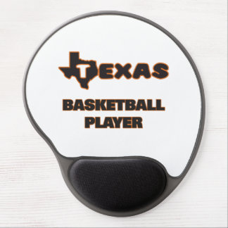 Texas Basketball Player Gel Mouse Pad