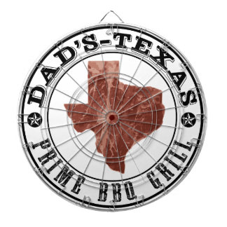 Texas BBQ Game Room by Mini Brothers Dartboard With Darts
