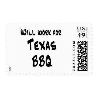 Texas BBQ Postage