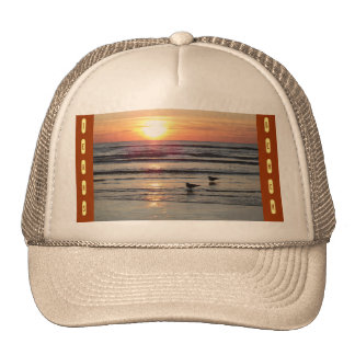 Texas Beach Trucker Hat