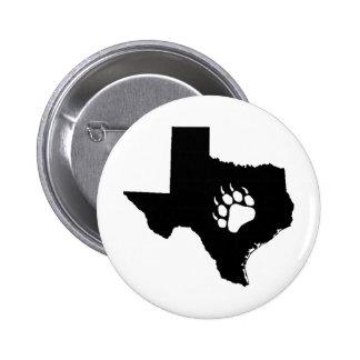 Texas Bear Pinback Button
