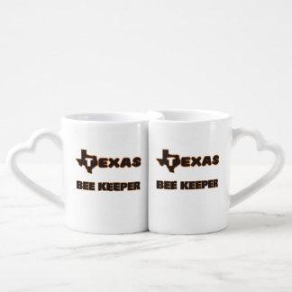 Texas Bee Keeper Couples' Coffee Mug Set