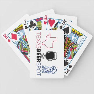 Texas Beer Spot Bicycle Playing Cards