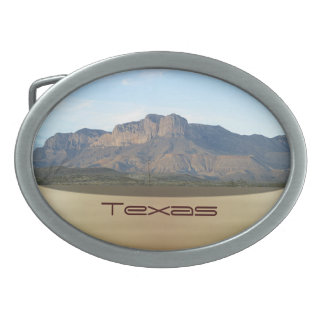 Texas Oval Belt Buckle