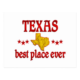 Texas Best Postcard