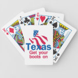 TEXAS BICYCLE PLAYING CARDS