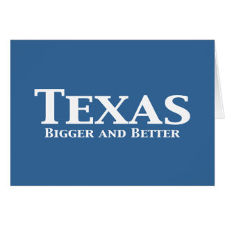 Texas Bigger and Better Gifts Card