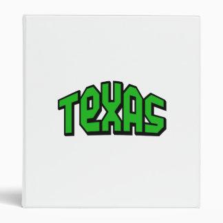 Texas 3 Ring Binder