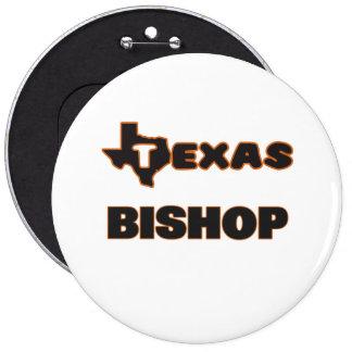 Texas Bishop 6 Inch Round Button