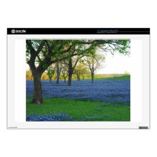 Texas Blue Bonnets Skin For Laptop