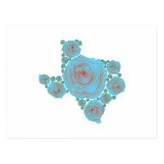 Texas Blue Rose Postcard