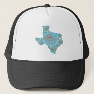 Texas Blue Rose Trucker Hat