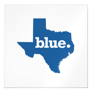 TEXAS BLUE STATE MAGNETIC CARD