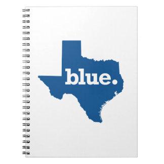 TEXAS BLUE STATE SPIRAL NOTEBOOK