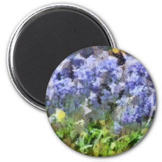 Texas Bluebells Magnet