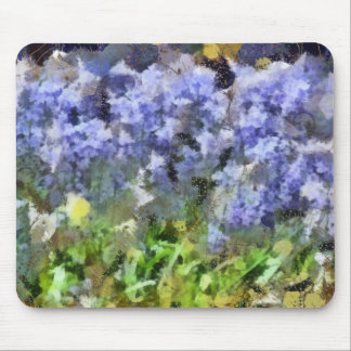Texas Bluebells Mouse Pad