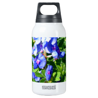 TEXAS BlueBonnet 10 Oz Insulated SIGG Thermos Water Bottle