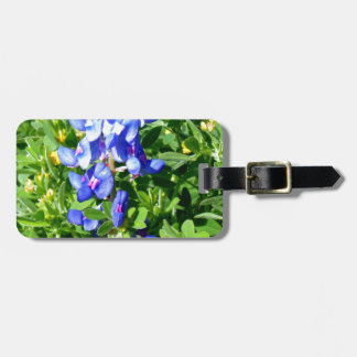 TEXAS BlueBonnet Bag Tag
