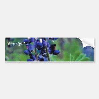 Texas Bluebonnet Bumper Sticker
