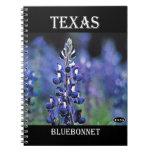 Texas Bluebonnet Note Book