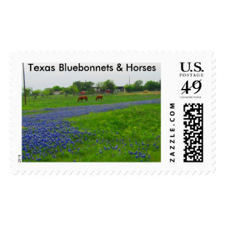 Texas Bluebonnet Postage Stamps--Legal postage