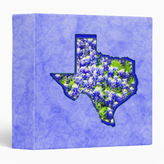 TEXAS BLUEBONNETS BINDER