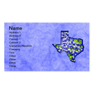 TEXAS BLUEBONNETS Double-Sided STANDARD BUSINESS CARDS (Pack OF 100)