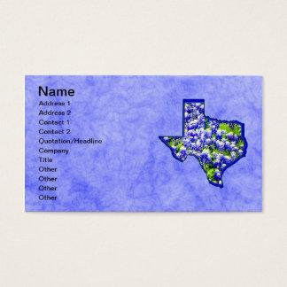 TEXAS BLUEBONNETS BUSINESS CARD