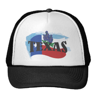 Texas Bluebonnets Cap Trucker Hat