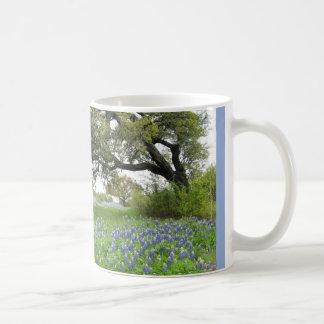 Texas Bluebonnets Classic White Mug