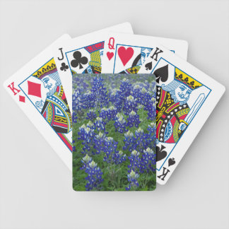 Texas Bluebonnets Field Photo Bicycle Playing Cards