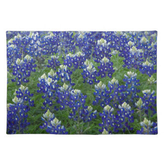 Texas Bluebonnets Field Photo Cloth Placemat