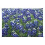 Texas Bluebonnets Field Photo Placemat