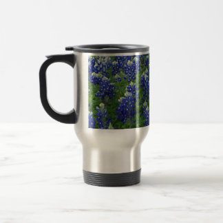 Texas Bluebonnets Field Photo Travel Mug
