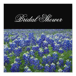 Texas Bluebonnets Floral Bridal Shower Invitation