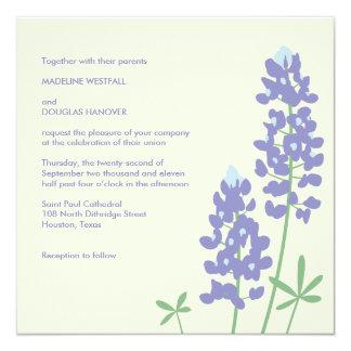 Texas BlueBonnets Invitation