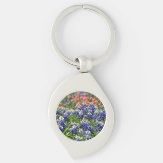 Texas Bluebonnets Key Chain