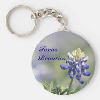 Texas Bluebonnets Photograph Series #10 Keychain