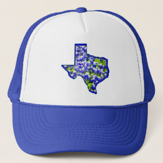 TEXAS BLUEBONNETS TRUCKER HAT