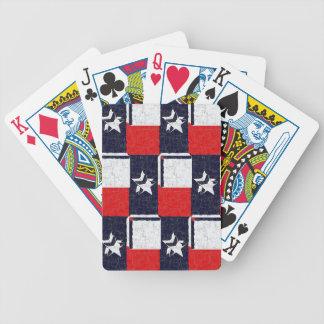 TEXAS BLUR DESIGN DECK OF CARDS