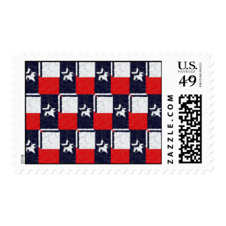TEXAS BLUR DESIGN POSTAGE STAMPS