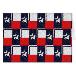 TEXAS BLUR DESIGN STATIONERY NOTE CARD