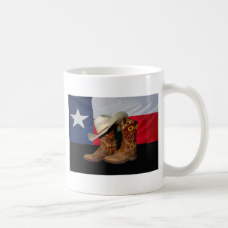 Texas Boots and Hat.jpg Mugs